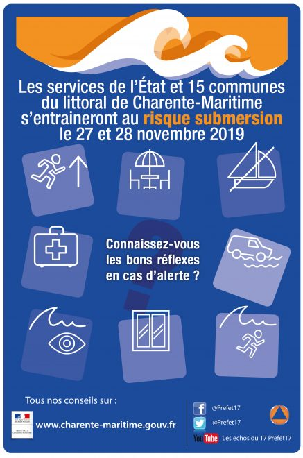 Loix - Exercice submersion - 27 et 28 novembre 2019