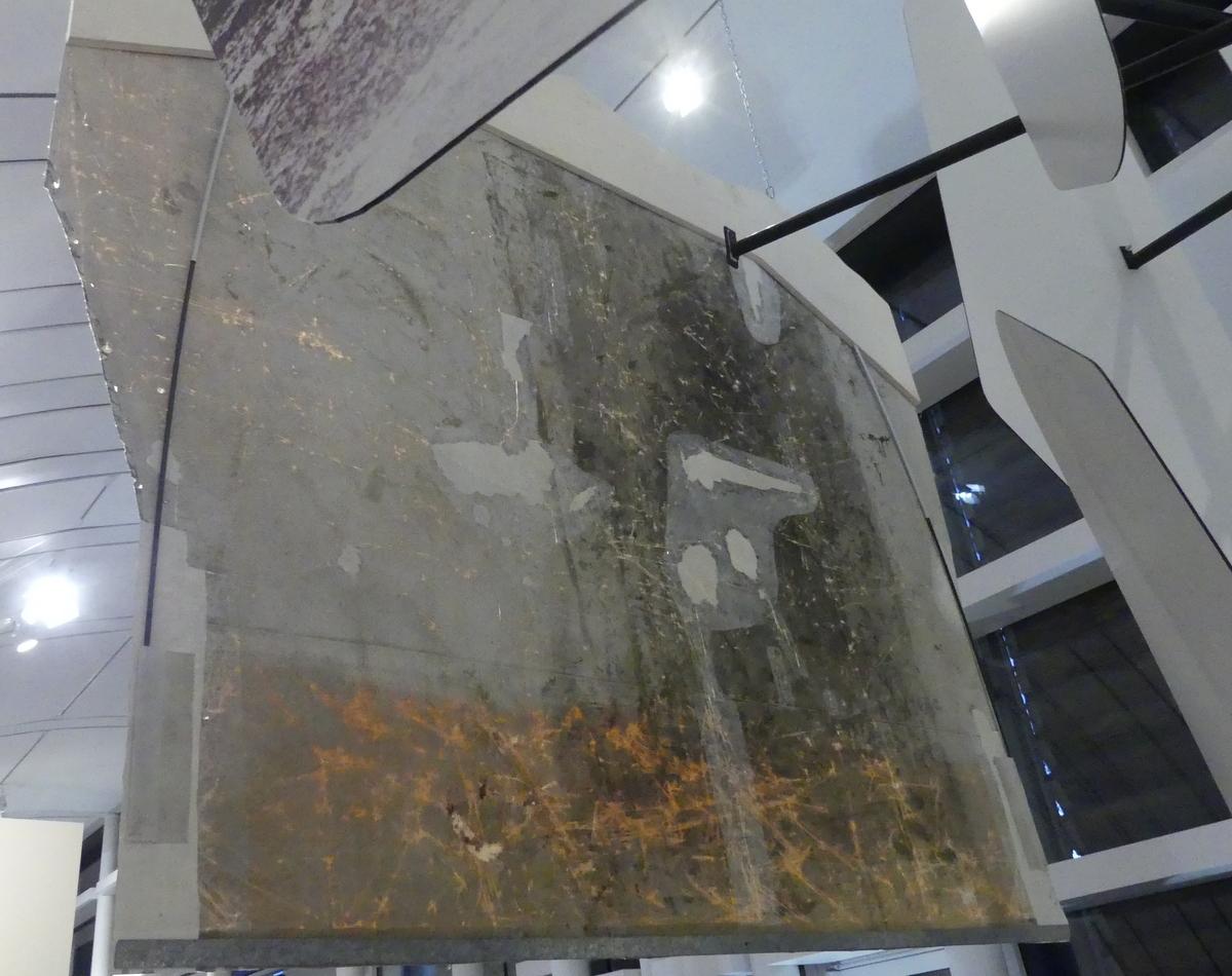 Saint-Martin - Musée Enseigne restaurée - Verso - 9 décembre