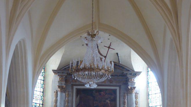 Ars - Eglise - Lustre - 4 décembre 2019