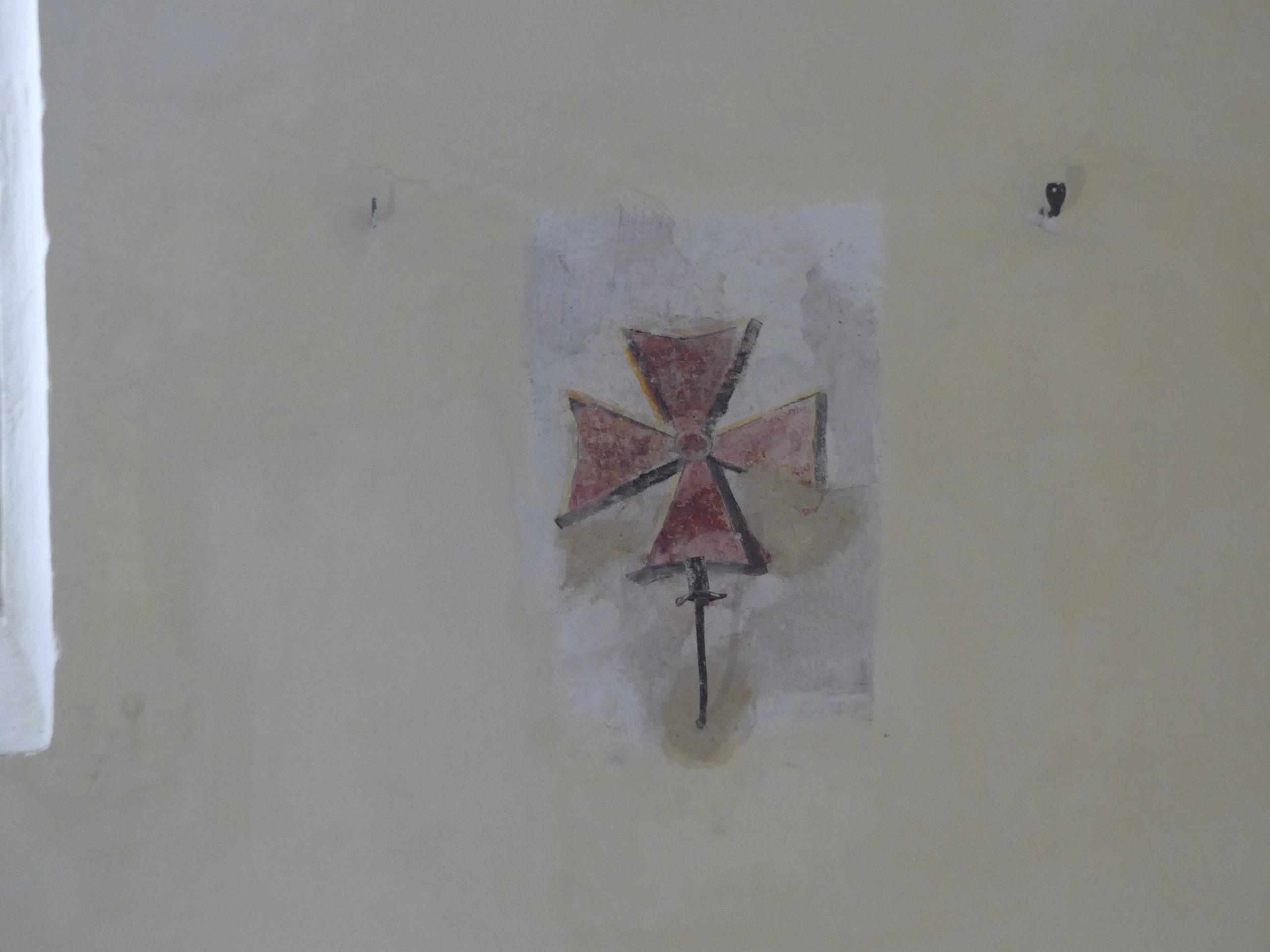 Ars - Eglise -Croix de consécration - 22 novembre 2019