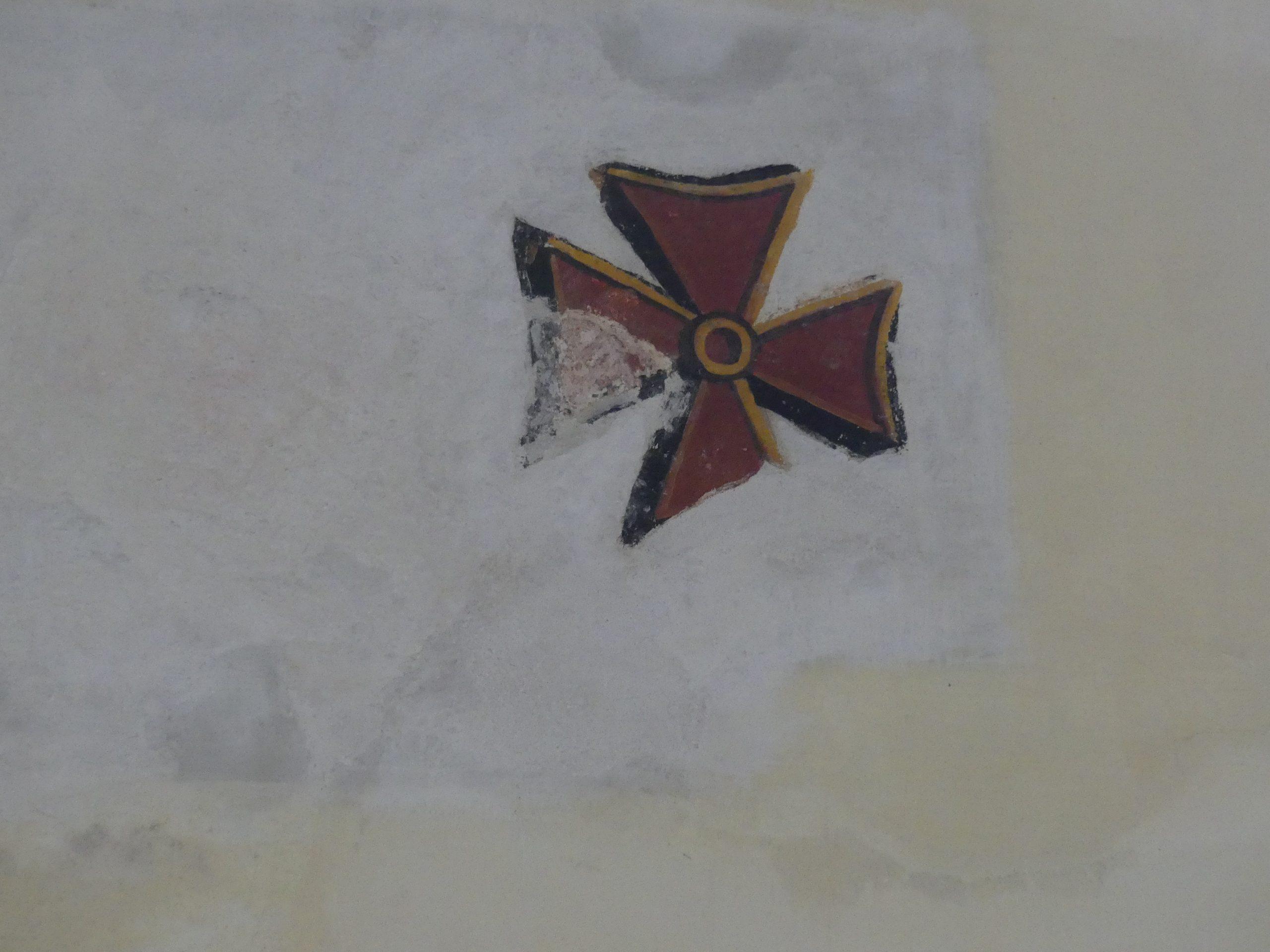 Ars - Eglise - Croix de consécration - 26 novembre 2019