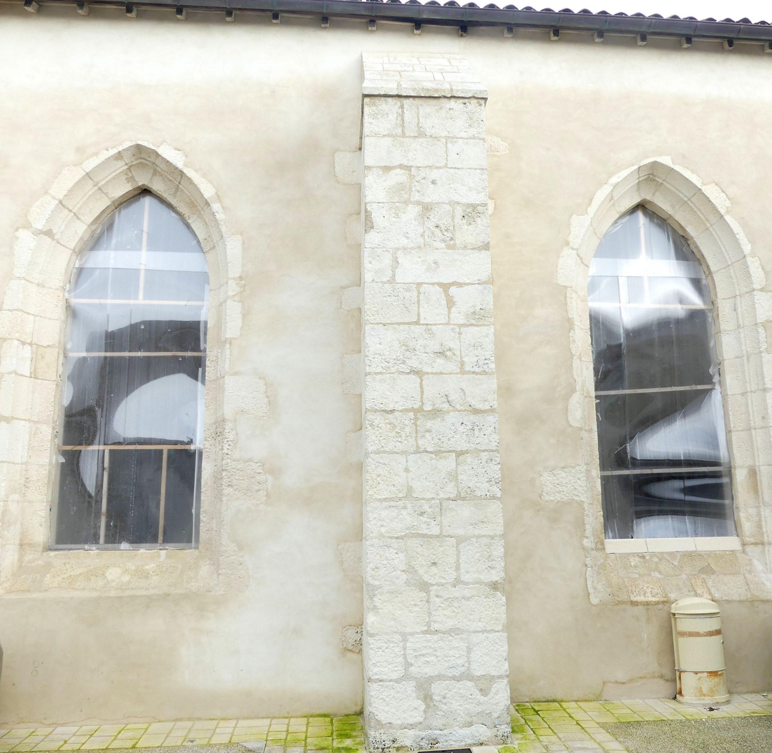 Ars - Eglise - Vitraux - 26 novembre 2019