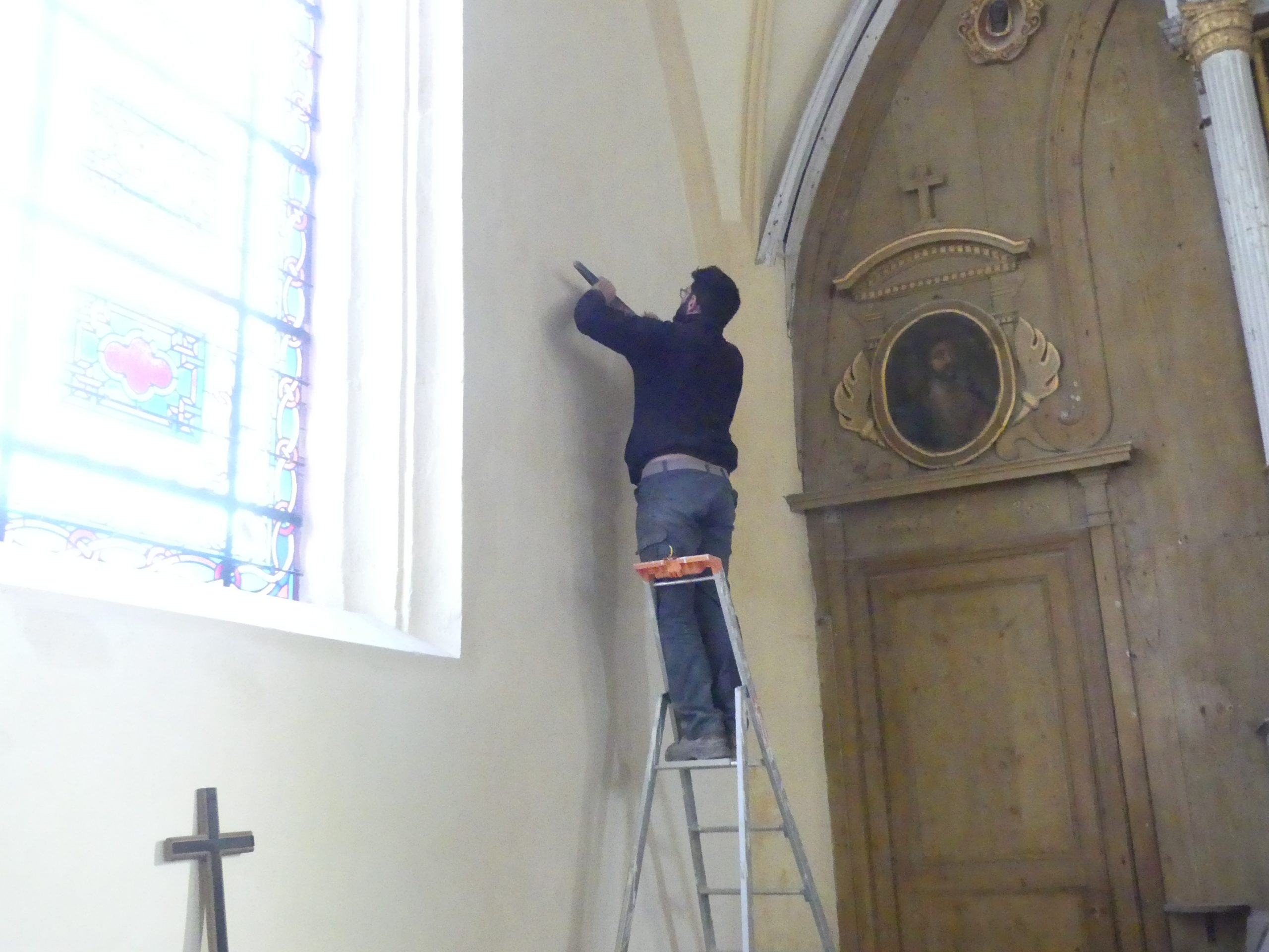 Ars - Eglise - Remise en place des éléments de piété - 26 novembre 2019