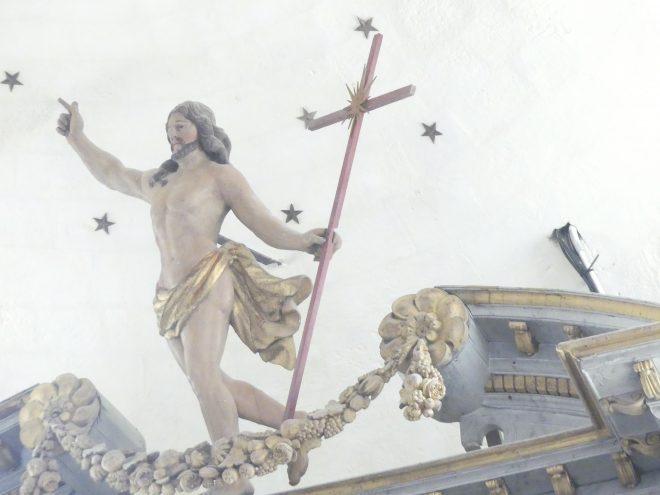 Ars - Eglise - Christ ressuscité - 28 novembre 2019
