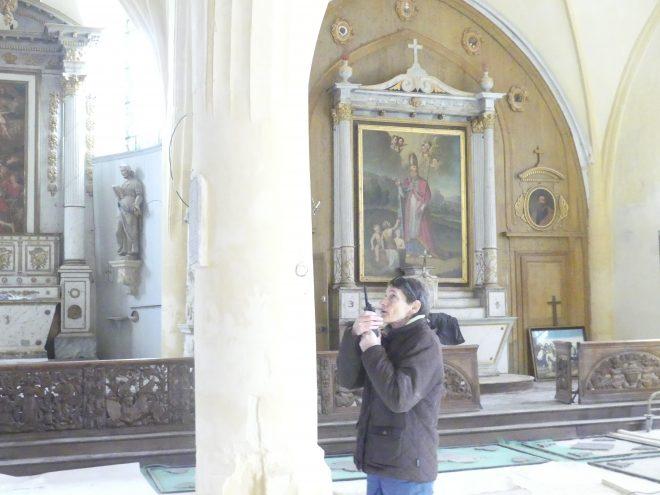 Ars - Eglise - Lustre - 28 novembre 2019