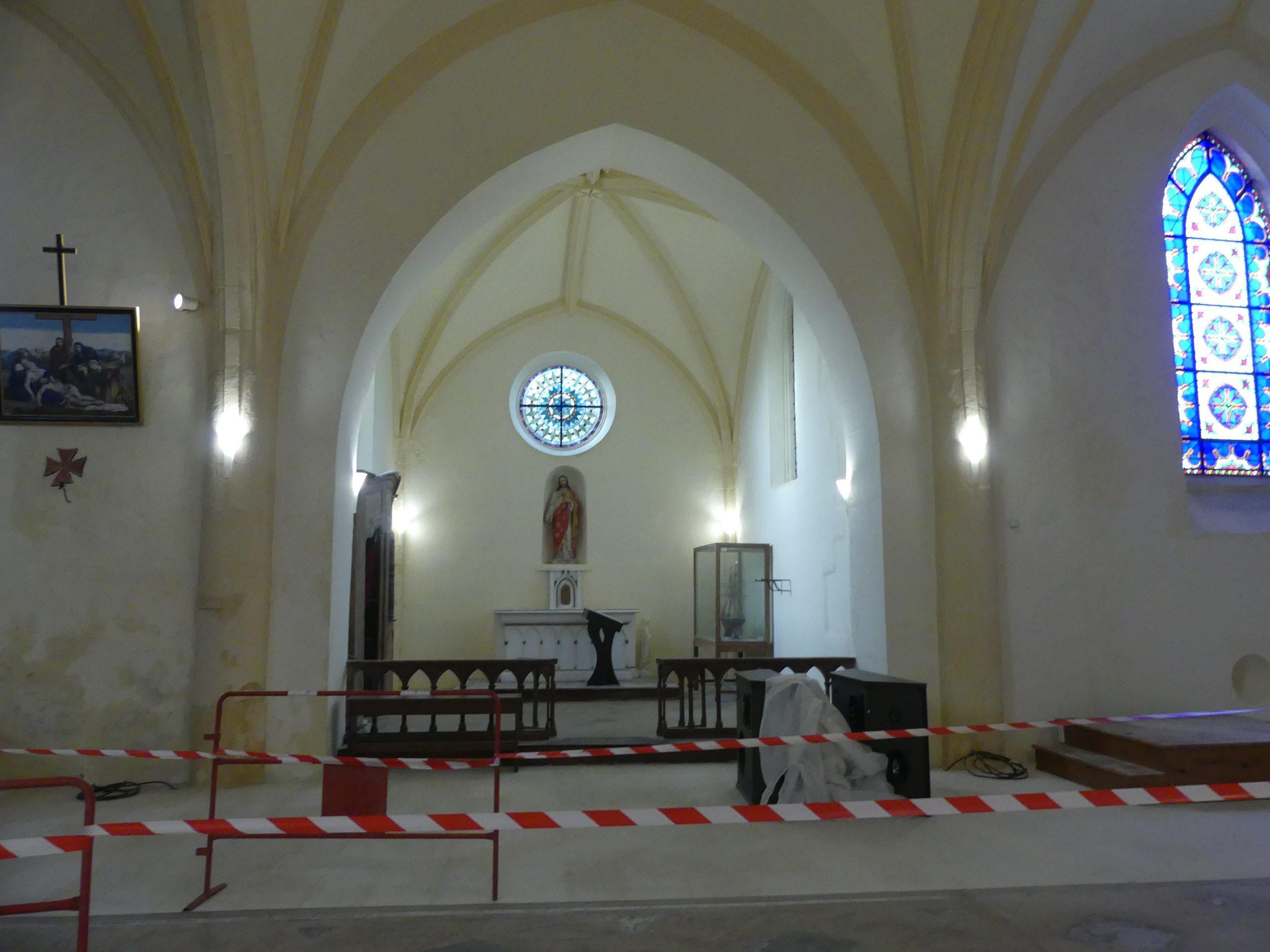 Ars - Eglise - Vitraux - 3 février 2020