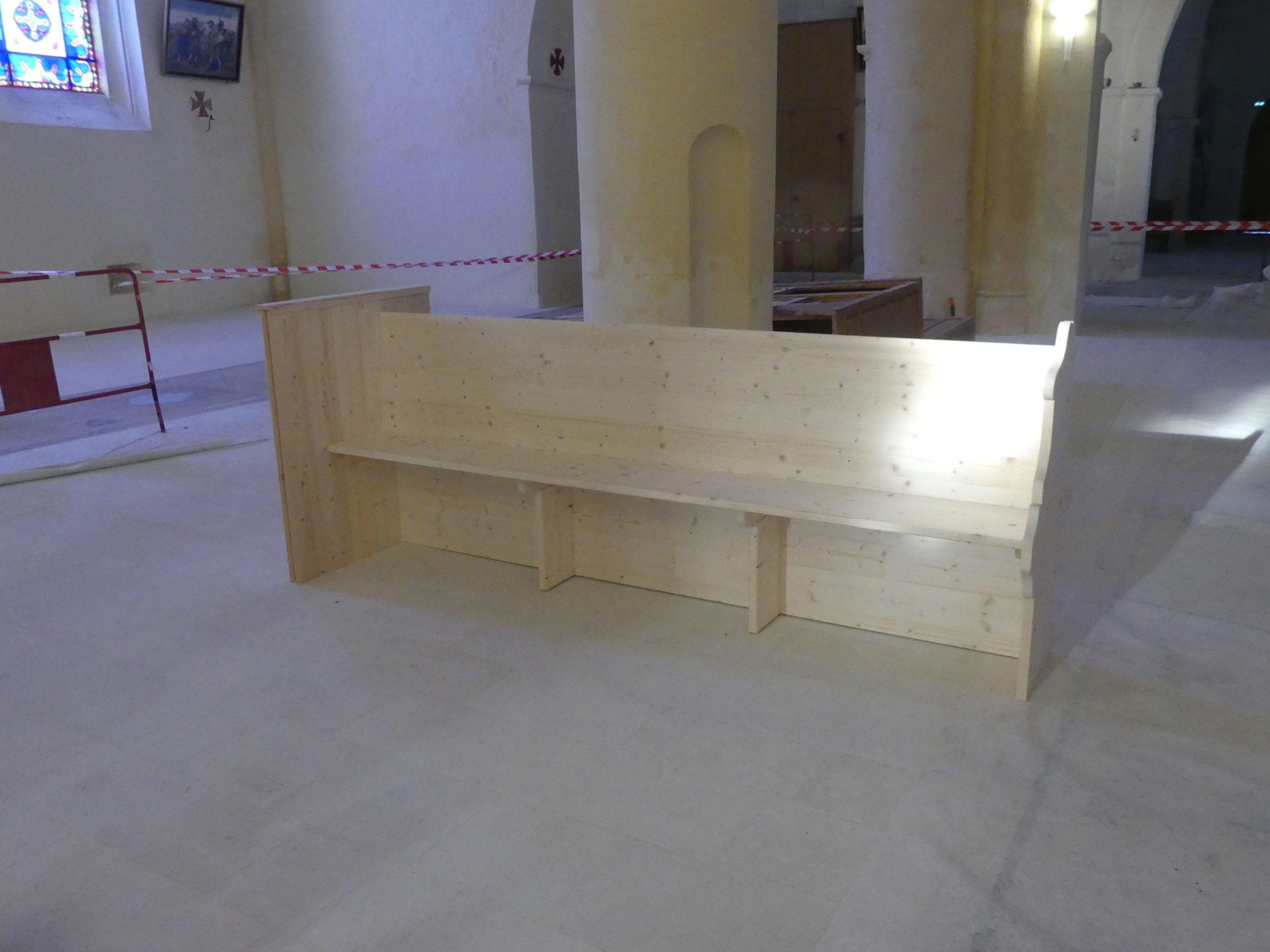 Ars - Eglise - Bancs Palvadeau - 3 février 2020
