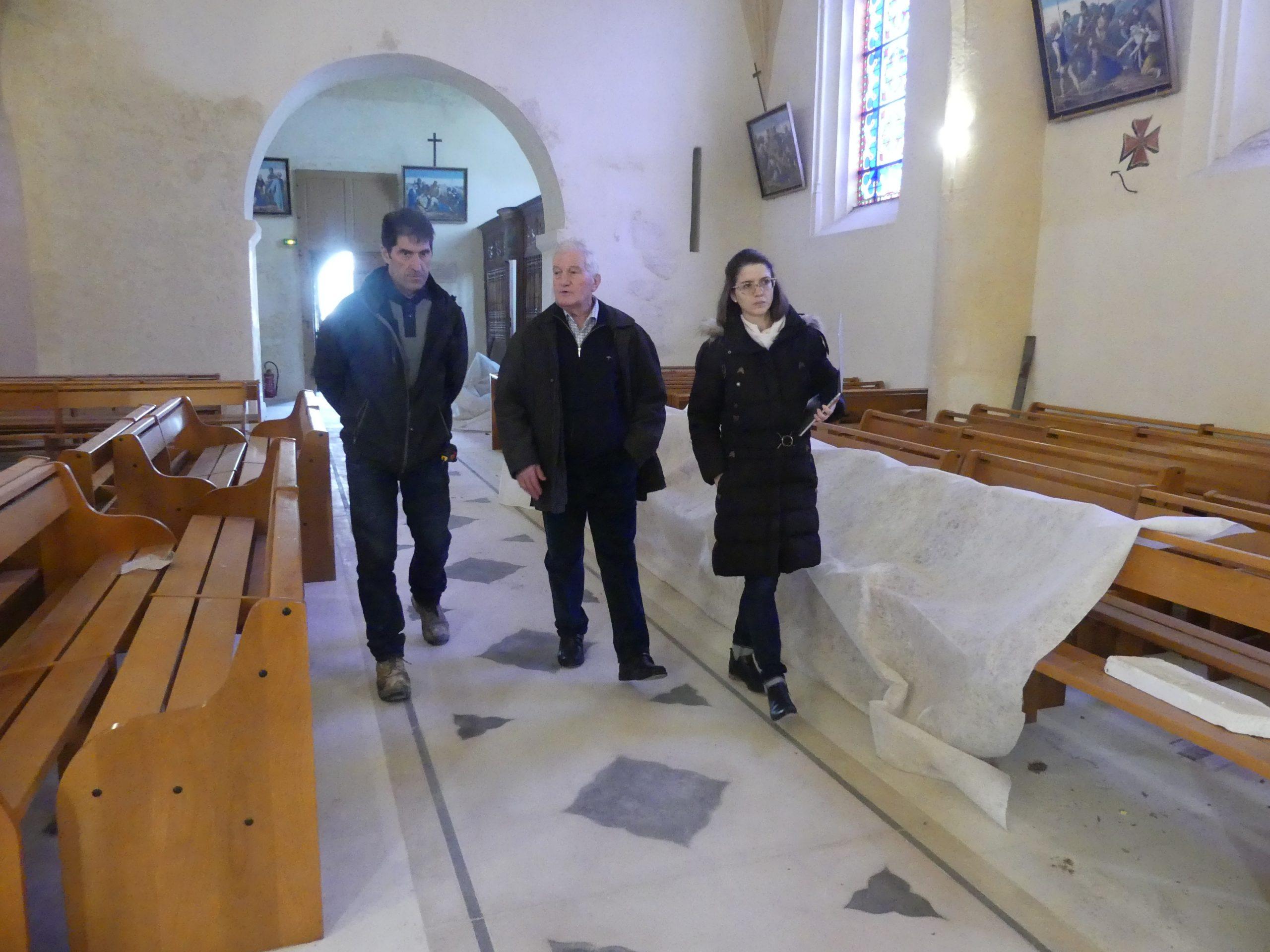 Ars - Eglise - Réunion chantier - 3 février 2020