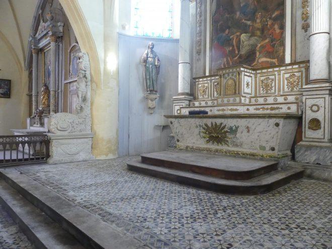 Ars - Eglise - Sols restaurés - 3 février 2020