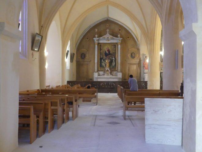 Ars - Eglise - Réinstallation bancs - 9 mars 2020