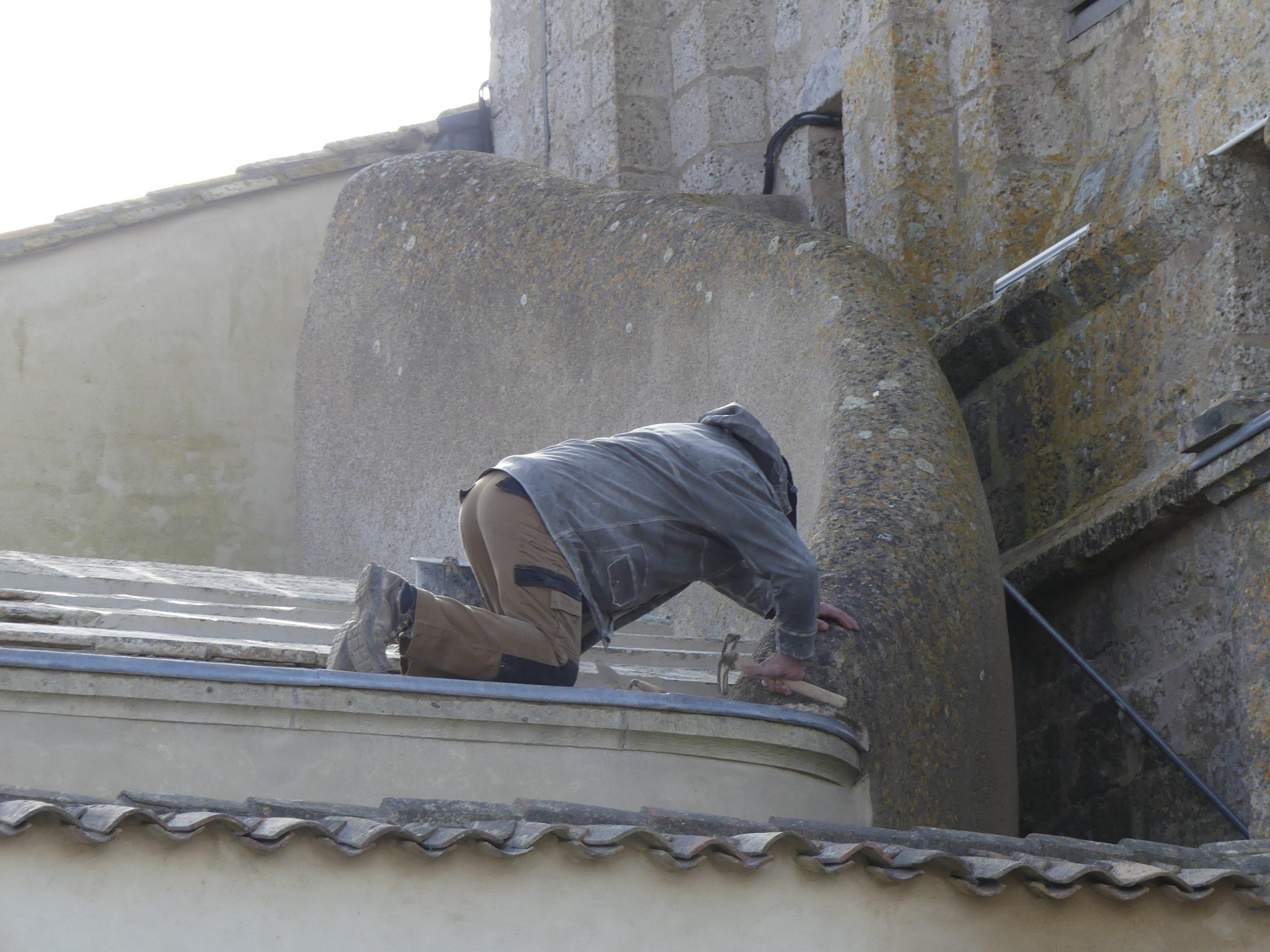 Ars - Eglise - Etanchéité toit - 9 mars 2020