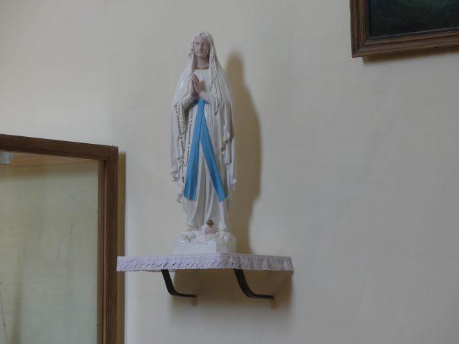 Ars - Eglise - Remise en état Vierge - 15 mai 2020