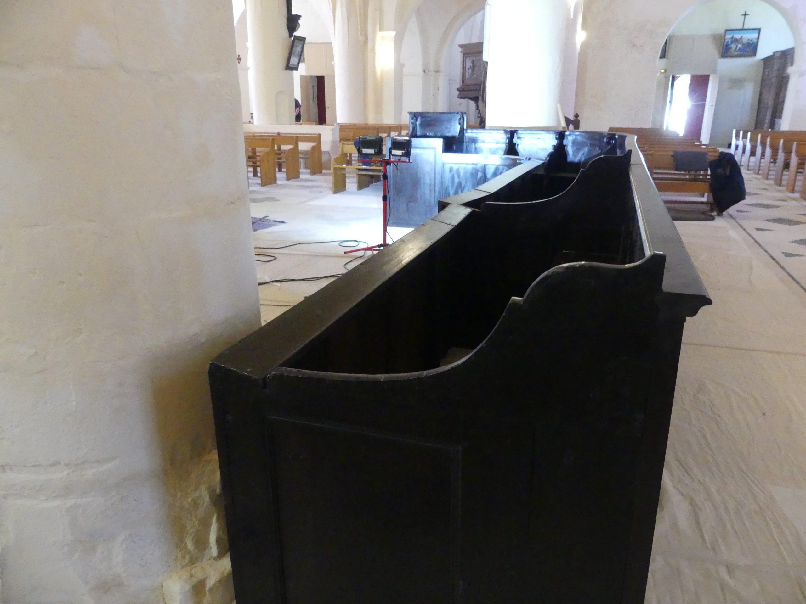 Ars-en-Ré - Eglise - Stalles - 11 juin 2020
