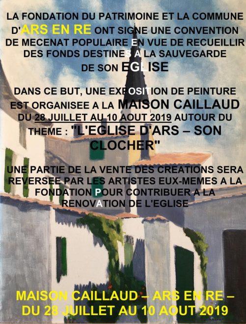 Ars-en-Ré - Expo 2019 clocher