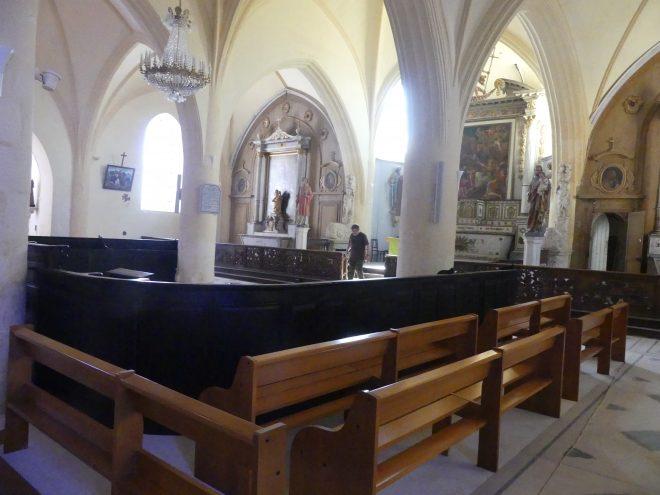 Ars-en-Ré - Eglise - Stalles - 18 juin 2020
