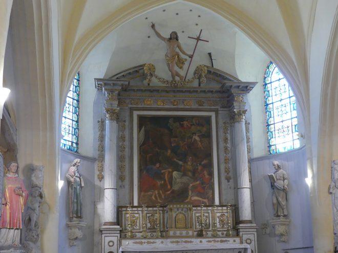 Ars - Eglise - Retable - 2 juillet 2020