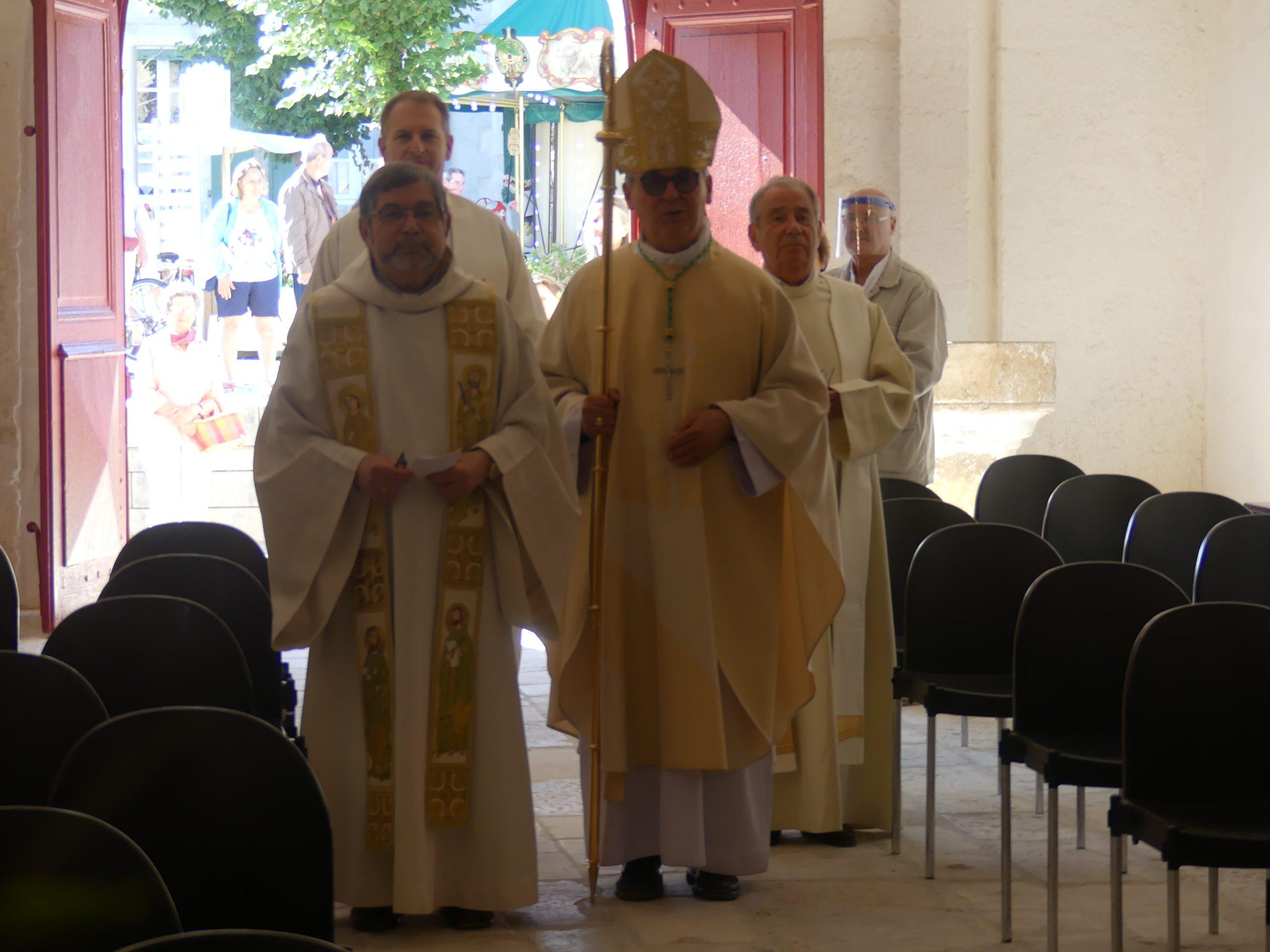 Ars - Eglise - Cérémonie ouverture - 2 juillet