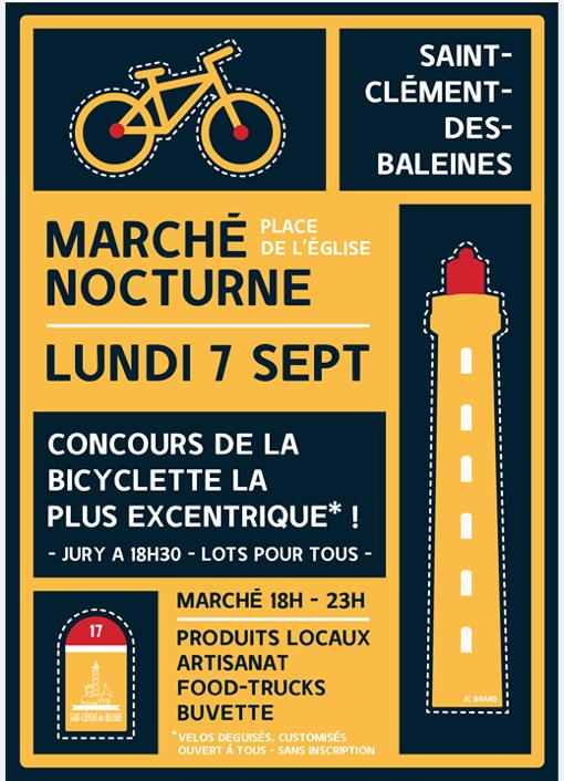 Ile de Ré - Tour de France - Animation Saint-Clément des Baleines - 7 septembre 2020