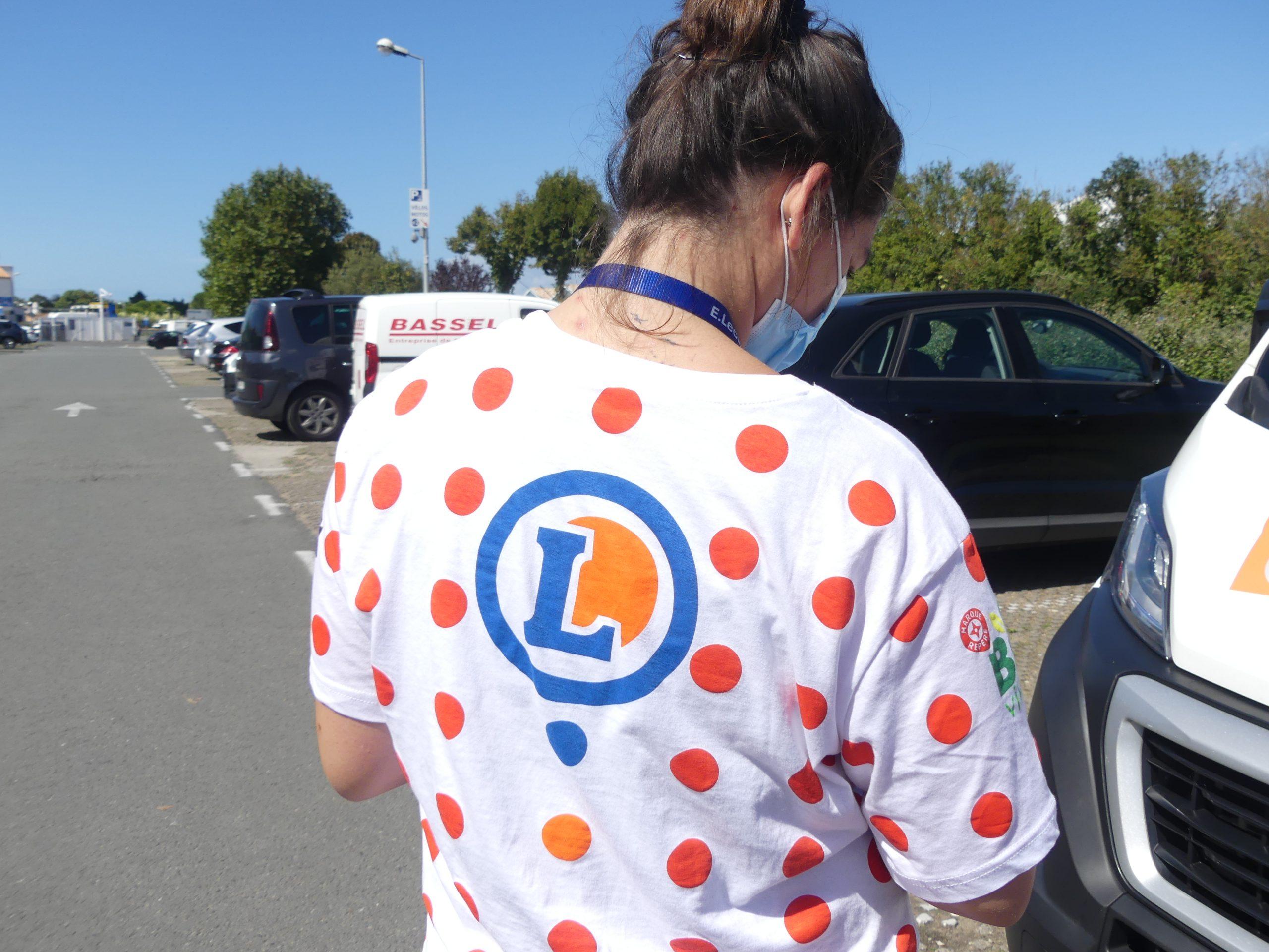 Ile de Ré - Tour de France - Animation Saint-Martin - Leclerc - 7 septembre 2020