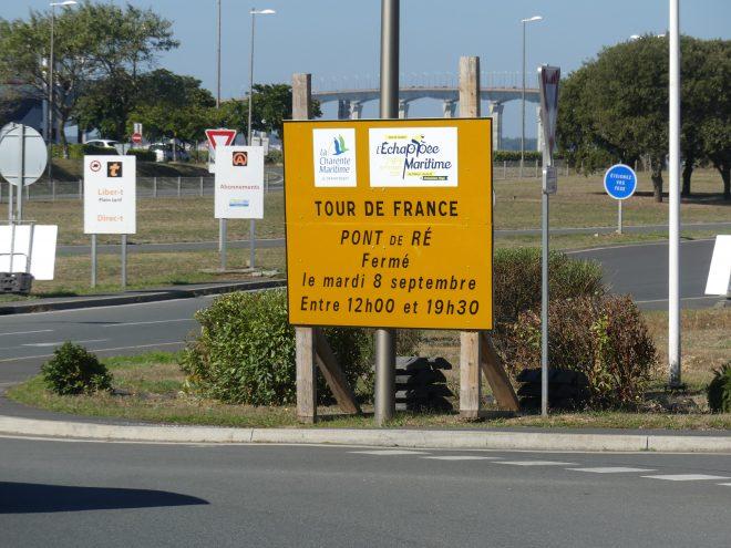 Saint-Martin de Ré - Tour de France - Pont - 2 septembre 2020