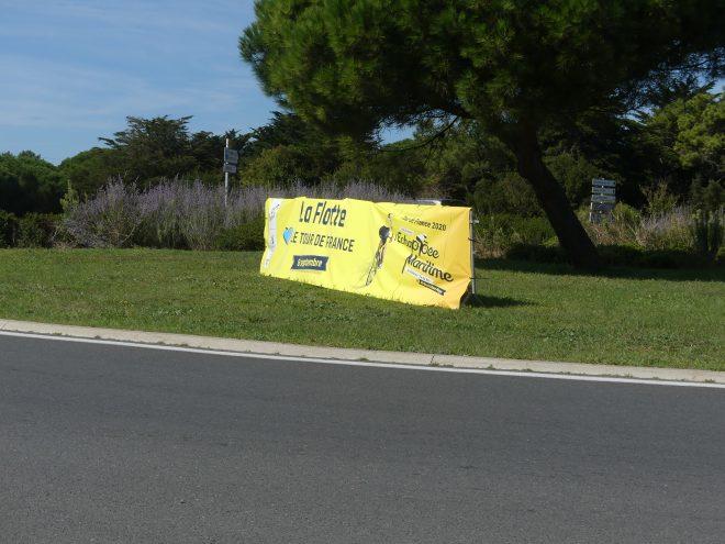 Ile de Ré - Tour de France - Préparatifs - 3 septembre 2020