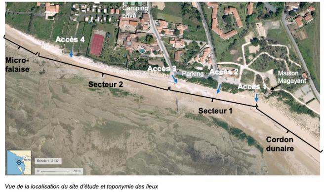 Sainte-Marie de Ré - Emplacement digue Montamer - Octobre 2020