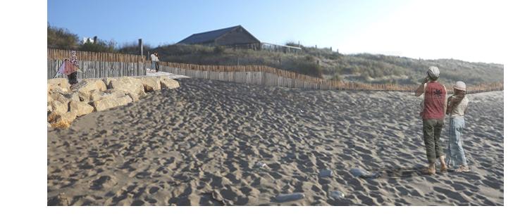 Sainte-Marie-de-Ré - Cabane de Montamer - Accès 1 - Projet - Octobre 2020