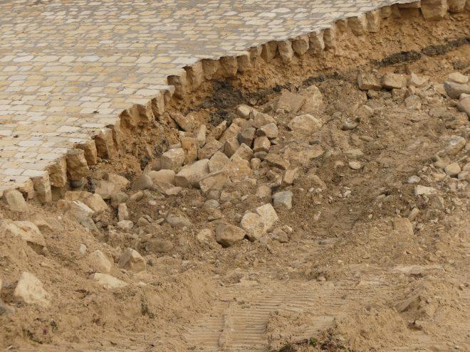 Ars-en-Ré - Digue cassée - 6 octobre 2020