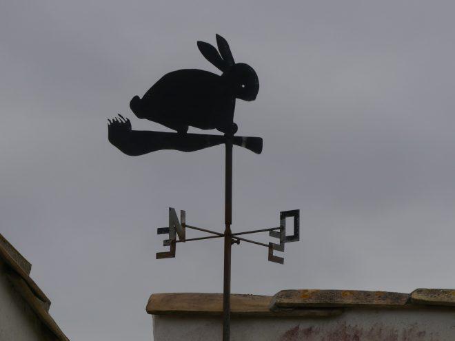 Météo 2021 - 26 décembre 2020 - Girouette lapin