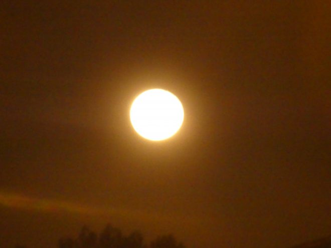 Météo 2021 - 1er janvier 2021 - Lune à Ars
