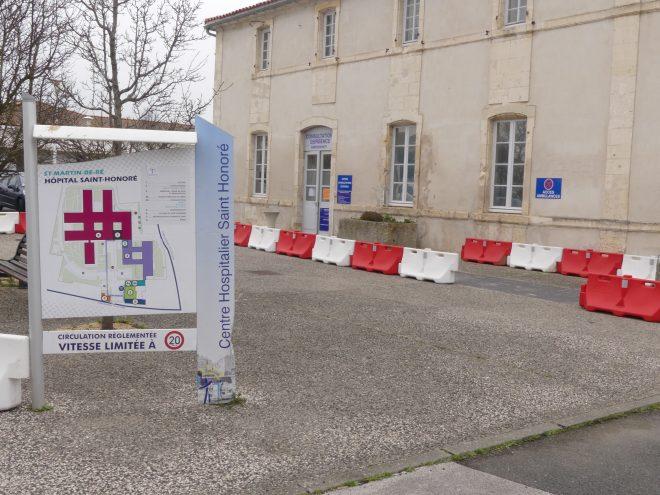 Saint-Martin de Ré - Hôpital - 19 janvier 2021