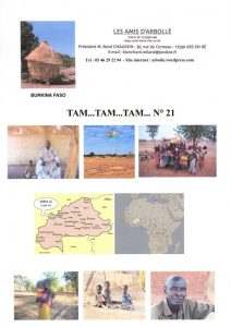 Couverture Tam Tam n° 21
