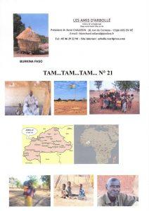 Couverture Tam Tam n° 21