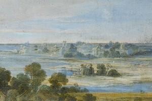 Laurent de La Hyre - Bourg et isle de Loye