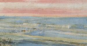 Laurent de La Hyre - Digue des marais salants
