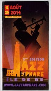 Programme Jazz au Phare 2014