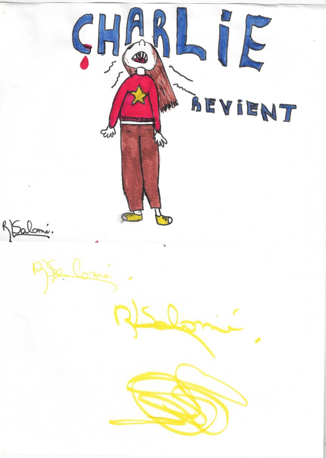 Charlie - Salomé - 7 janvier 2014