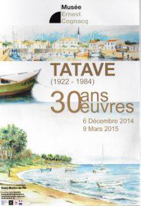 Expo Tatave - Musée Ernest Cognacq