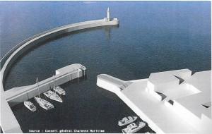 La Flotte - Projet mise en sécurité du port - source Conseil général