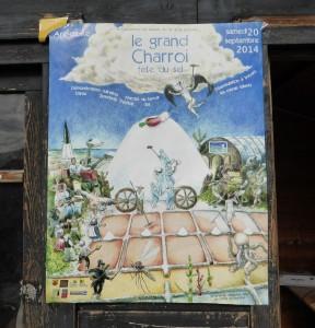 Affiche Le grand Charroi - 2014