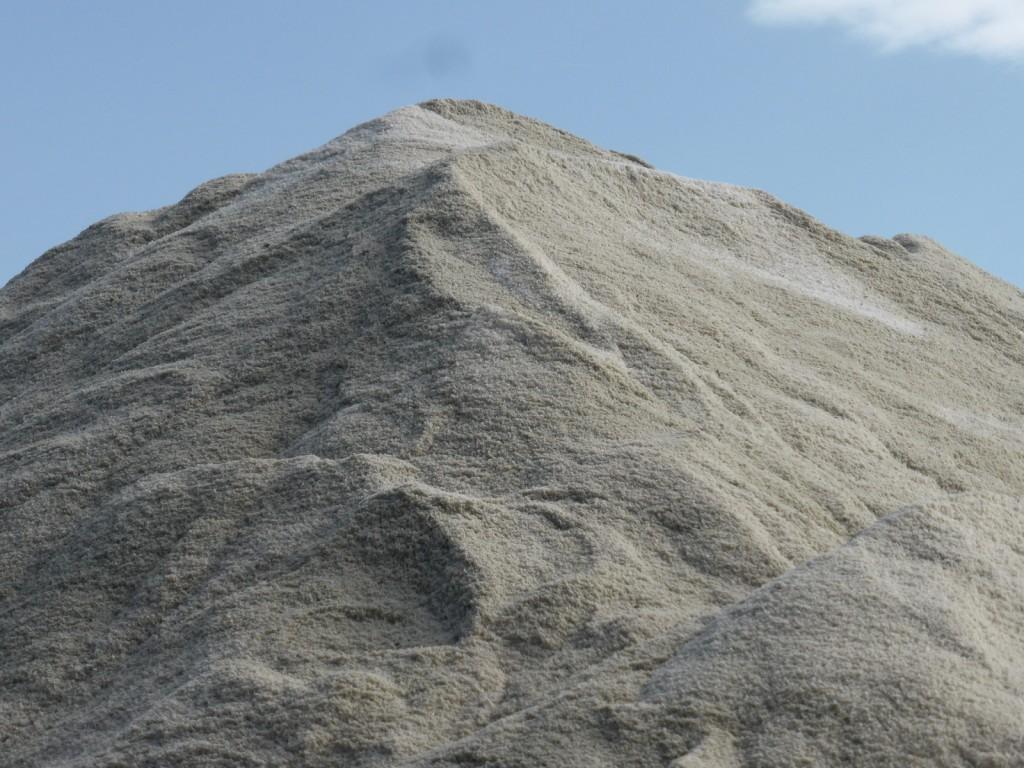 Tas de gros sel - septembre 2014