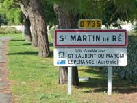 Panneau jumelage - Saint-Martin/Espérance