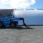 Le nouveau toit de la Coopérative de sel