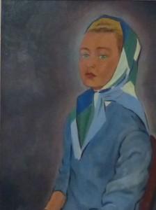 Marie-Françoise Verley-Duverger par Claude Suire