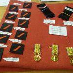 Pompiers, pluie de médailles et de diplômes