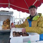 Dernier jour de pêche des saint-jacques