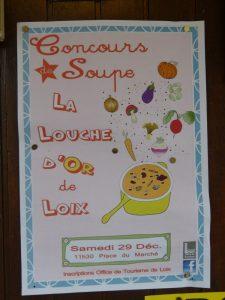 Affichette concours soupe Loix