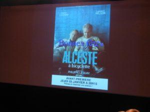 La Maline - Avant première Alceste à bicyclette