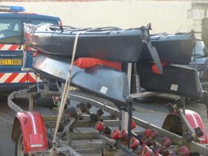 Brigade nautique - Contrôle parcs ostréicoles - décembre 2013