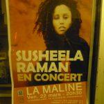 Susheela Raman à La Maline